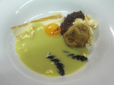 Snert with white truffle