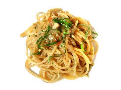 Spaghetti, scallion and tomato (1965)