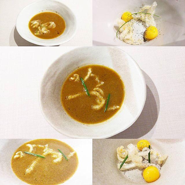 Ramen castellano de sopas de ajo