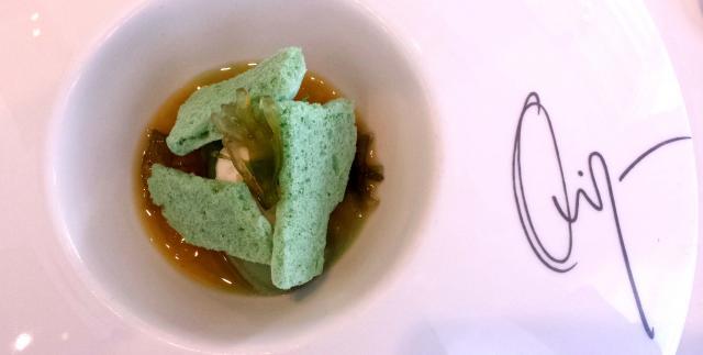 Mojito de pepino y algas