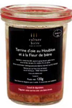 Terrine D'Oie Au Houblon Et À La Fleur De Bière Culture Bière