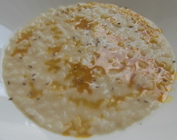 Risotto con Curry y Aneto