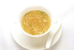 Sopa de Tofu y Legumbres Verdes