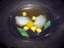 Cocido rondeño con aleta de cazón